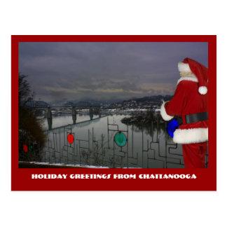 Carte Postale Chattanooga Père Noël