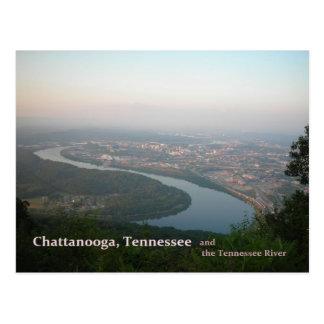 Carte postale - Chattanooga TN et la rivière
