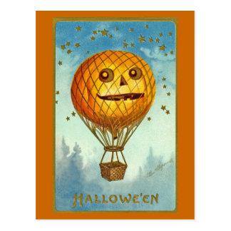 Carte postale chaude vintage de ballon à air de Ha