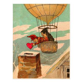 Carte postale chaude vintage de Valentine de