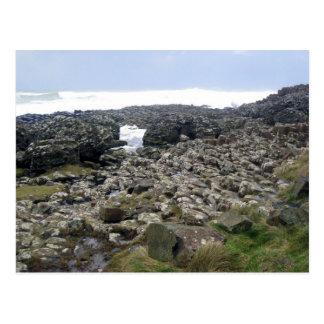 Carte Postale Chaussée Irlande du Nord de Giants