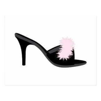 Carte Postale Chaussure de boudoir