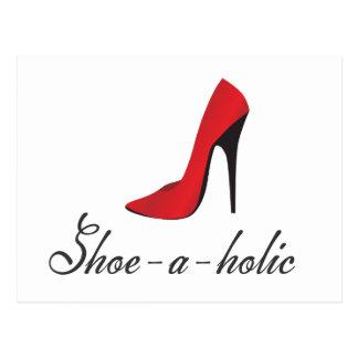 Carte Postale Chaussure-un-holic