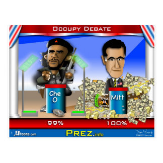 Carte Postale Che O et Romney