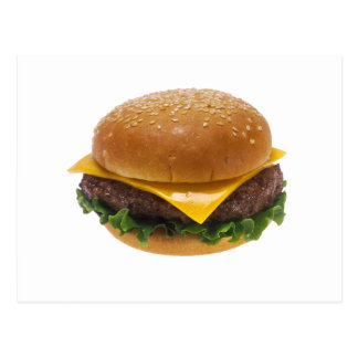 Carte Postale Cheeseburger