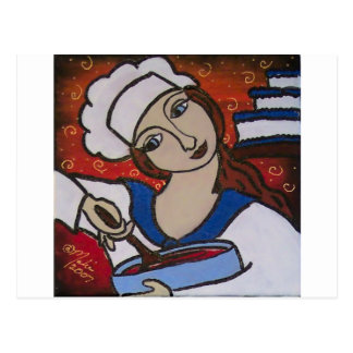 Carte Postale Chef de Patry