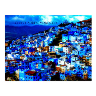 Carte postale Chefchaouen, Maroc
