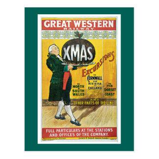 Carte Postale Chemin de fer de Great Western