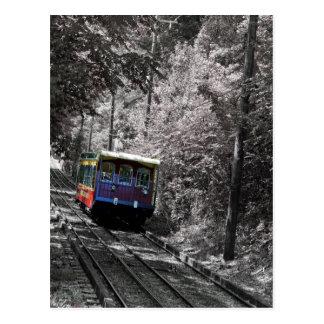 Carte Postale Chemin de fer de pente