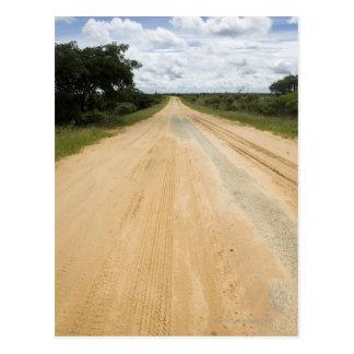 Carte Postale Chemin de terre près de Vilanculos, Inhambane