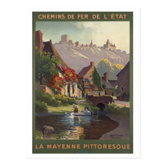 Carte Postale Chemins de fer de la Mayenne Pittoresque France de