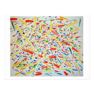Carte Postale Chemins visuels II par Jonathan FeBland