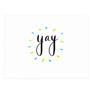 Carte Postale Chemises de YAY, accessoires, cadeau