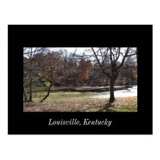 Carte postale cherokee de Louisville Kentucky de