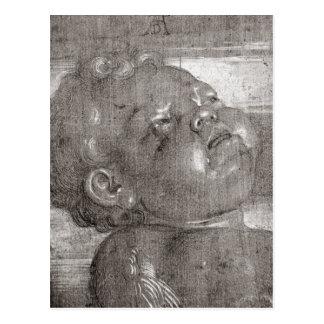 Carte Postale Cherubim pleurant, 1521