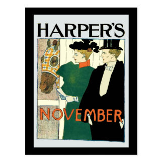 Carte Postale Cheval de juin du harpiste à vendre