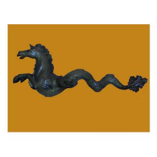 Carte Postale Cheval vénitien en verre de Murano