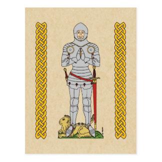 Carte Postale Chevalier anglais, Circa 1430