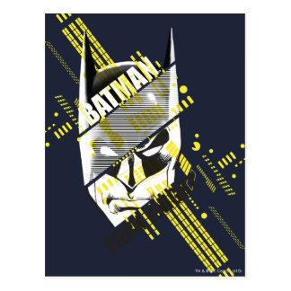 Carte Postale Chevalier foncé de Batman futuriste