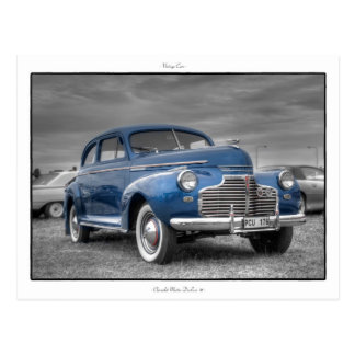 Carte Postale Chevrolet '41 de luxe principaux