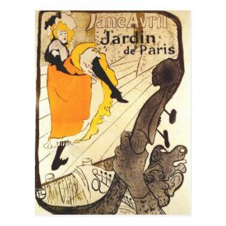 Carte Postale Chez le Jardin De Paris