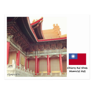 Carte Postale Chiang Kai-shek Memorial Hall