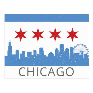 Carte Postale Chicago : La ville venteuse