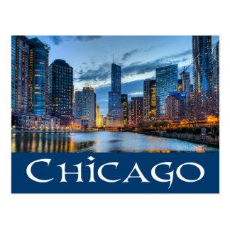 Carte Postale Chicago l'Illinois horizon d'Etats-Unis - Chicago