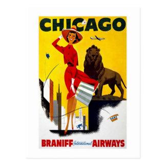 Carte Postale Chicago vintage