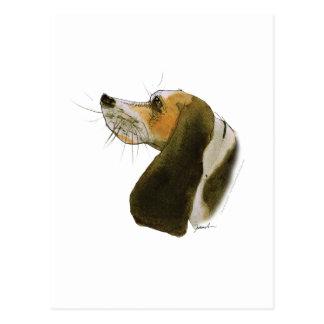Carte Postale Chien de beagle, fernandes élégants