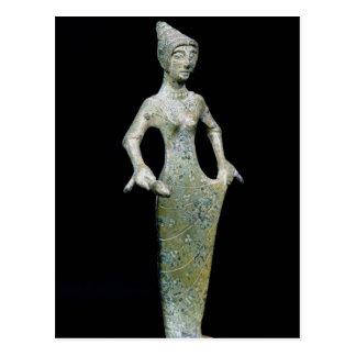 Carte Postale Chiffre femelle, probablement Aphrodite