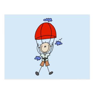 Carte Postale Chiffre T-shirts et cadeaux de bâton de plongeur