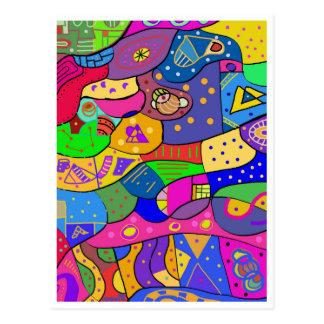 "Carte postale ""Child Playground"""