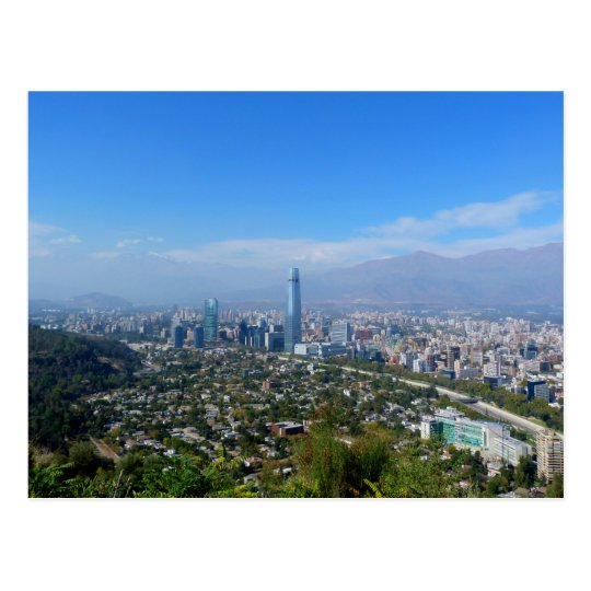 Carte Postale Chile - Santiago - Overall