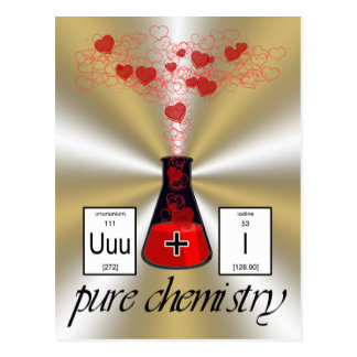 Carte Postale Chimie pure