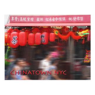 Carte Postale Chinatown New York City