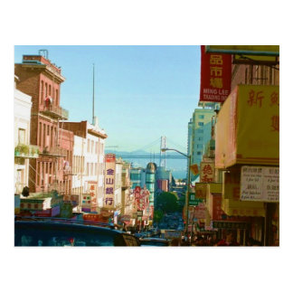 Carte Postale Chinatown San Francisco