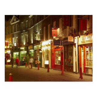 Carte Postale Chinatown, Soho, Londres, Angleterre, Royaume-Uni