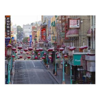 Carte Postale Chinatown sur la rue de Grant à San Francisco,