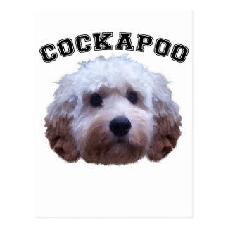 Carte Postale Chiot de Cockapoo