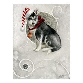 Carte Postale Chiot elfique