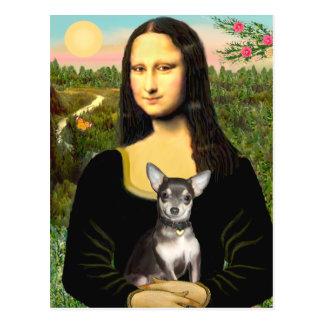 Carte Postale Chiwawa (BlueTan) - Mona Lisa