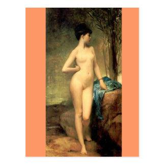 Carte Postale Chloe - art vintage - peintures célèbres - Lefebvr