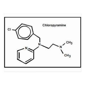Carte Postale Chloropyramine