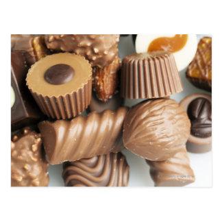 Carte Postale chocolats