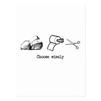 Carte Postale Choisissez sagement