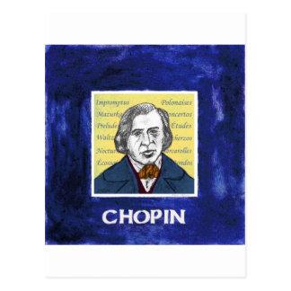 Carte Postale Chopin