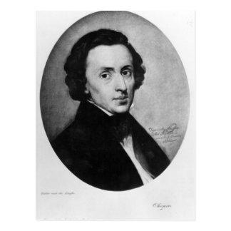 Carte Postale Chopin, 1858