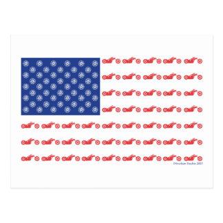Carte Postale CHOPPER-FLAG- [converti]