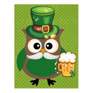 Carte Postale Chouette épervière de St Patrick